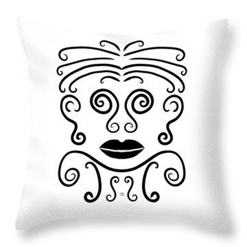 Doli Throw Pillow