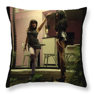Dolls  Throw Pillow