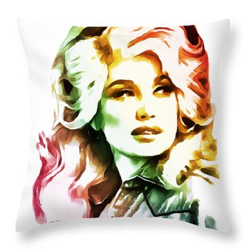 Dolly Parton Collection - 1 Throw Pillow