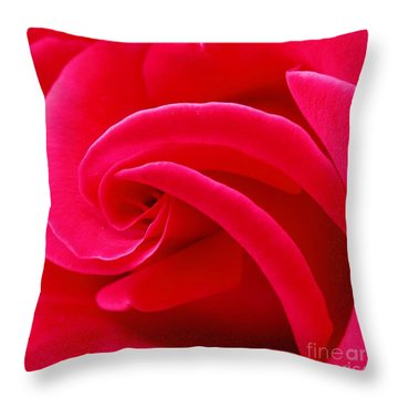Dolly Parton's Red Rose Throw Pillow