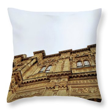 Dolmabahce Palace Throw Pillow