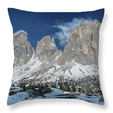 Dolomites 1 Throw Pillow