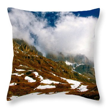 Dolomites 2 Throw Pillow