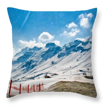 Dolomites 3 Throw Pillow