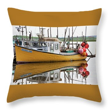 Dolores Ann The Old Fair Lady Throw Pillow