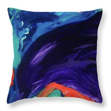Dolphin Dreams Throw Pillow