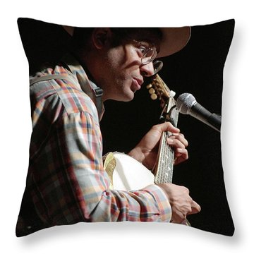 Dom Flemons Throw Pillow