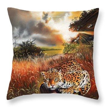 Domain Throw Pillow