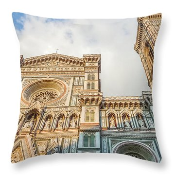 Dome Of Florence Throw Pillow