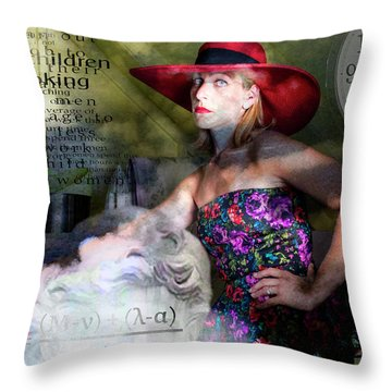 Domestic Considerations Kronos' Daughter Throw Pillow by Ann Tracy