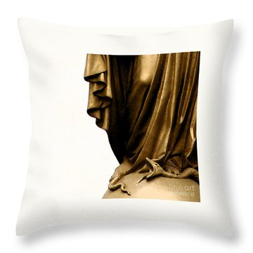 Dominion Over The Serpent Throw Pillow by Linda Shafer