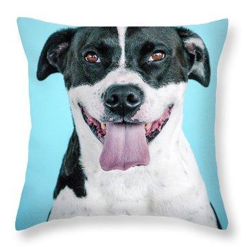 Domino 7 Throw Pillow
