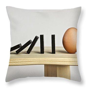 Egg Throw Pillows