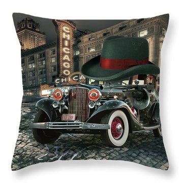 Don Cadillacchio Throw Pillow by Marian Voicu