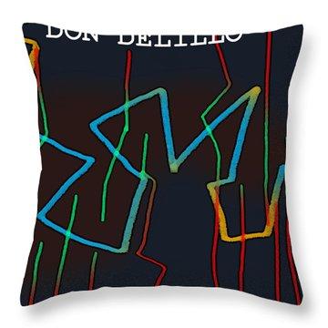 Don Delillo Poster  Throw Pillow
