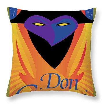 Don Giovanni Throw Pillow