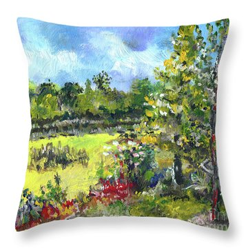 Don T Forget The Wall Throw Pillow