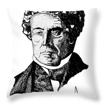 Donald Mckenzie Throw Pillow