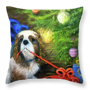 Done Waiting Throw Pillow
