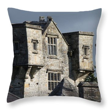 Donegal Castle Throw Pillow
