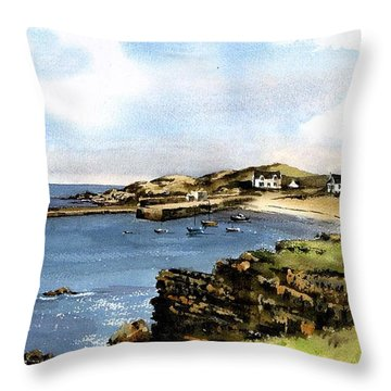 Donegal.  Port Na Blagh Throw Pillow