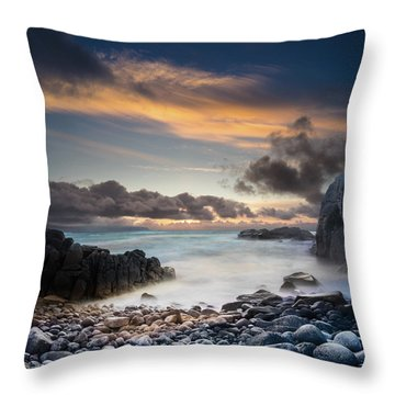 Donegal Sunset 5 Throw Pillow