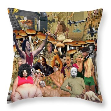 Don't Ask, Don't Tell Throw Pillow