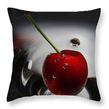 Don't Burst My Bubble Throw Pillow