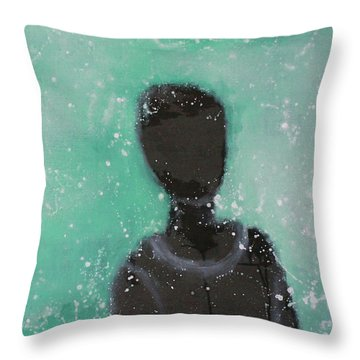 Don't Forget The Original Intention. Throw Pillow