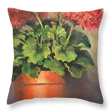 Don't Forget To Water Throw Pillow