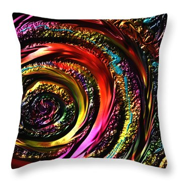 Don't Get Foiled Again Throw Pillow by Kevin Caudill