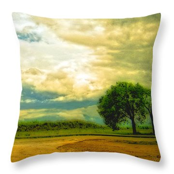Don't Know Why There's No Sun Up In The Sky Throw Pillow