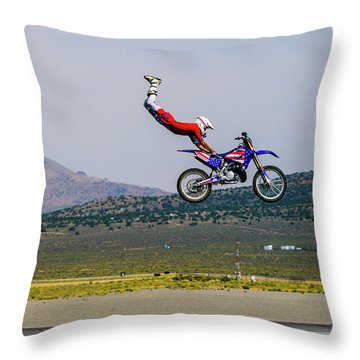 Don't Let Go Throw Pillow