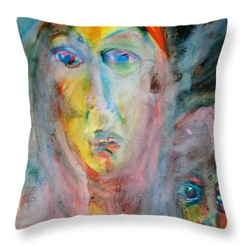 Don't Look At Me Throw Pillow