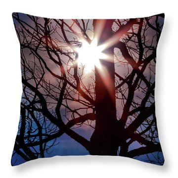 Don't Lose Sight Of It All Throw Pillow by Karen Wiles