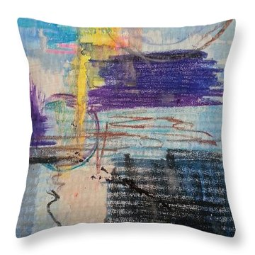 Don't Resist Throw Pillow by Becky Chappell