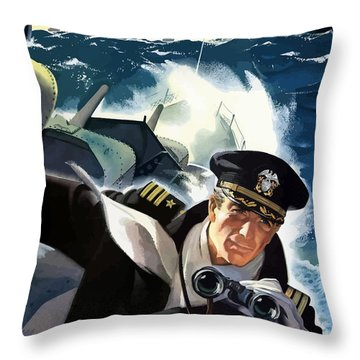 Don't Slow Up The Ship - Ww2 Throw Pillow