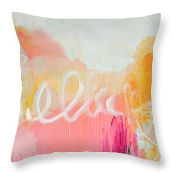Don't Think Twice Throw Pillow