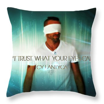 Don't Trust Throw Pillow