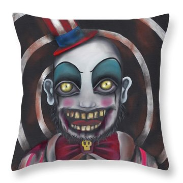 Don't You Like Clowns?  Throw Pillow by Abril Andrade Griffith