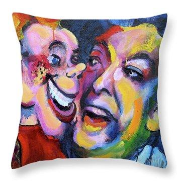 Doody And Bob Throw Pillow