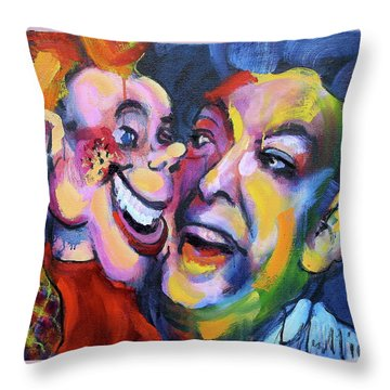 Doody And Bob Throw Pillow