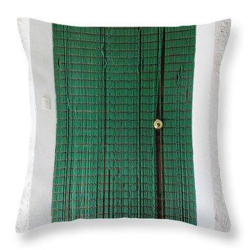 Door In Capilerilla Throw Pillow