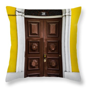 Door No 20 Throw Pillow