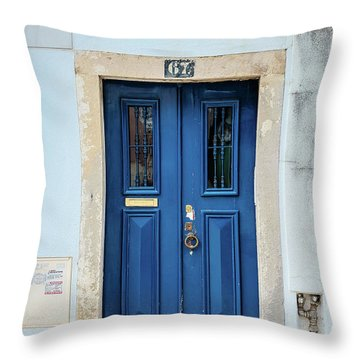 Door No 67 Throw Pillow