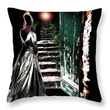 Door Of Opportunity Throw Pillow