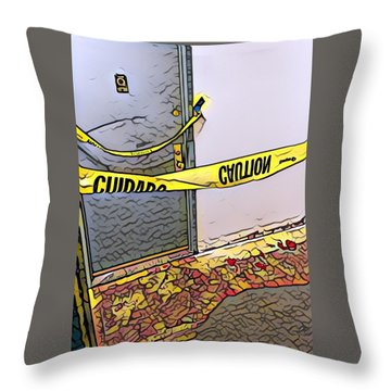 Door Of Perception Throw Pillow