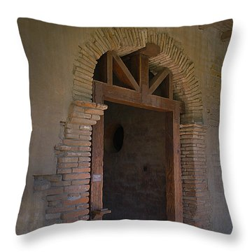 Door Way Throw Pillow