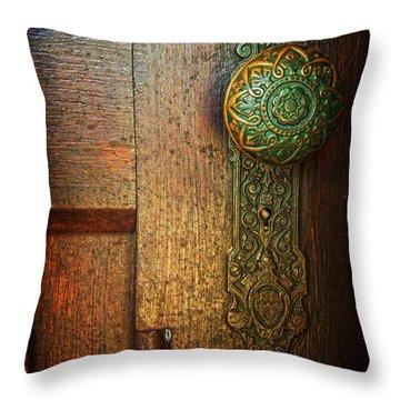 Doorknob Throw Pillow
