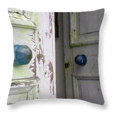 Doorknobs On Corfu Throw Pillow